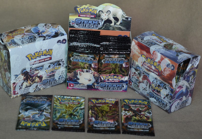 The Magic Baby's Pet Small Elves, The English Version Of The POKEMON Card Paper Box,324 Sheets