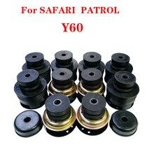 Whole car Frame buffer rubber Cushiion Sub-Assy  For Nissan SAFARI  PATROL Y60 95512-06J00 95522-06J00 95155-C6000