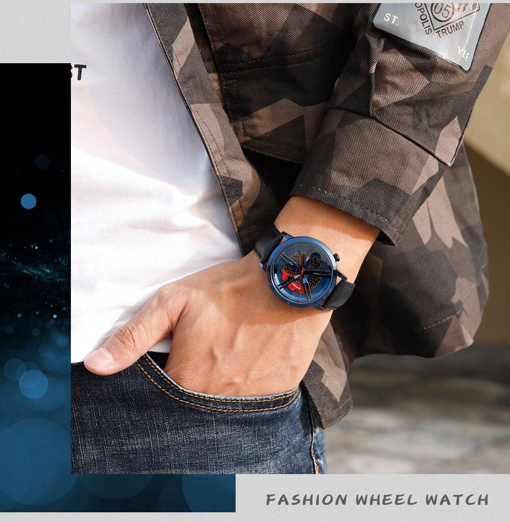 Hd6a1165e2d534360bebf53fbe5338859x SANDA Watch Top Brand New Wheel Series Dial Leather Strap