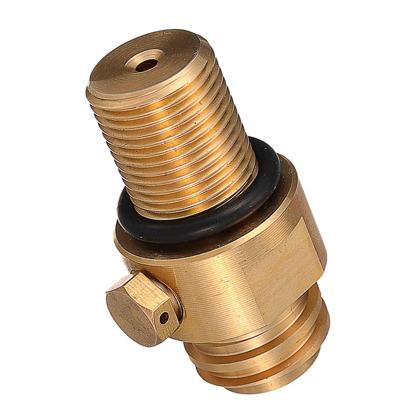 M18X1.5 Thread Tank Maker Valve Adapter Refill Co2 Pin Replacement 150Bar Tr21X4 Tank Valve Adapter Accessories for Soda Stream