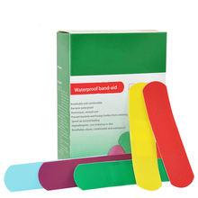 50 шт/компл Красочные водонепроницаемые пластыри дышащая повязка