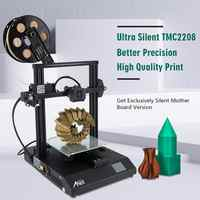 Anet a8 et4 pro impressora 3d impressora impressora impressora 3d impressora de alta precisão exturder tmc2208 primante 3d kit diy com pla filamen