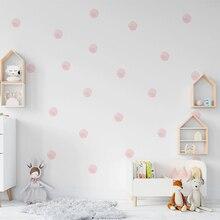 36 pièces/ensemble aquarelle Dot Stickers muraux pour enfants chambres décoration bricolage résistance à la décoloration pour la maison chambre décor