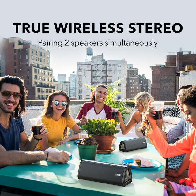 mifa A10+ Portable bluetooth speaker 360° Stereo Sound 20W  IPX7 waterproof wireless bluetooth 5.0 speaker 24-Hour Play time 4