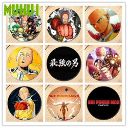 Free Shipping Anime ONE PUNCH-MAN Brooch Pin Cosplay Badges For Clothes Backpack Decoration B021