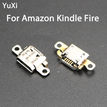 YuXi Micro Mini USB Charging Dock Socket 5pin jack Port Connector For Amazon Kindle Fire 7th Gen SR043KL image