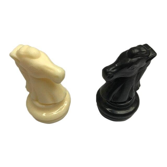 Set de pions d'échec - 32 pièces 6.4cm 6