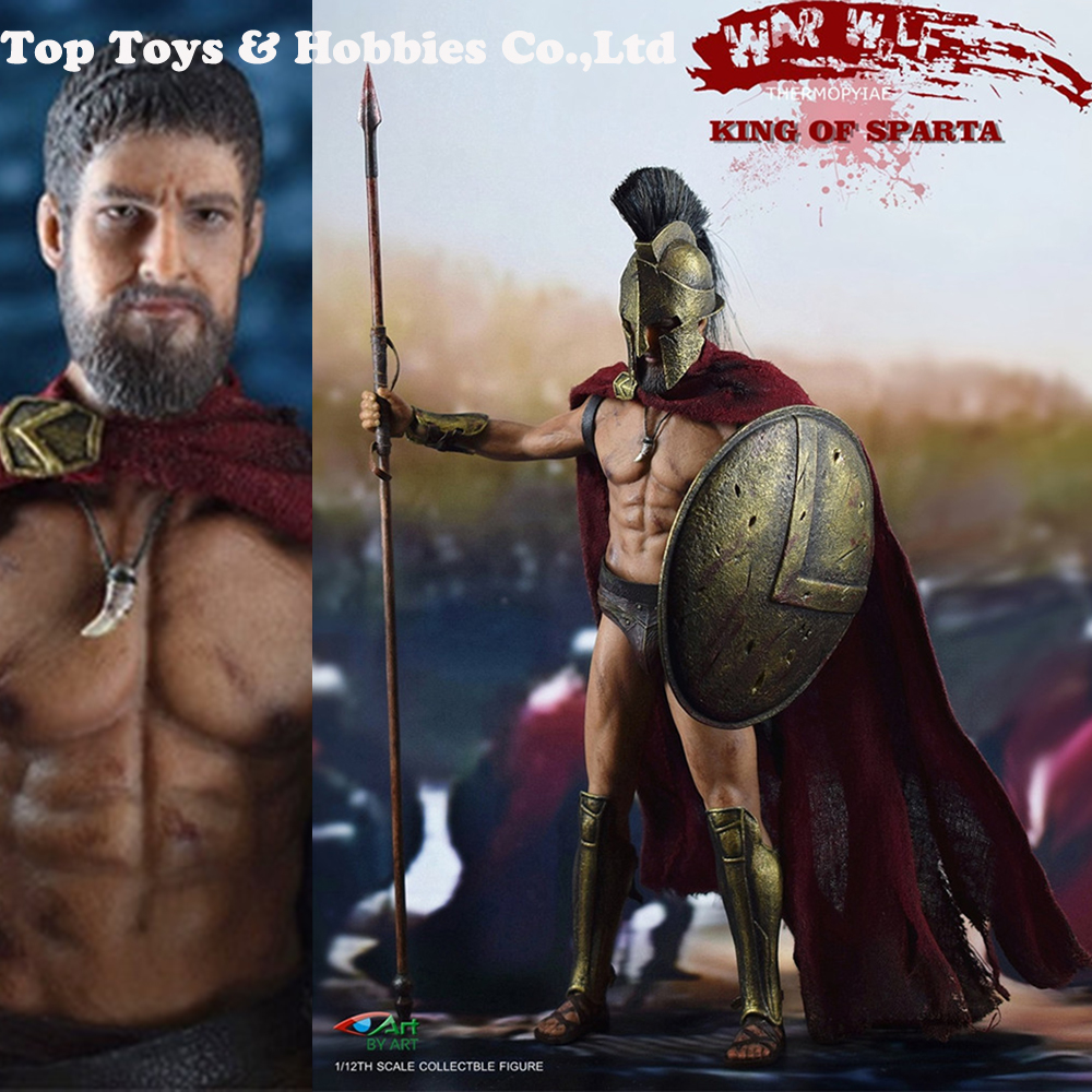 In Stock BY-ART BY-G01 1/12 Ancient Greece KING OF SPARTA Figure Collection Gifts Collection For Fans Gift Toys Model Figure