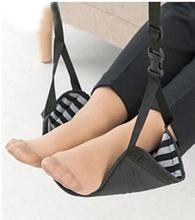 Foot Rest , Portable Travel Footrest Flight Carry-on Foot Rest Office Bus Airplane Feet Rest Feet Hammock Travel Accessories