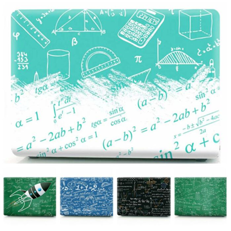 Case For Apple Macbook Air Pro Retina 11 12 13 15 Letter Transparent Laptop Cover For Mac Book 13.3 15.4 Inch A1466 A1932 A1708