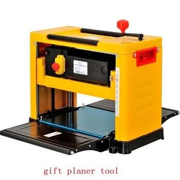 Cepillador de carpintería multifunción, carpintería de alta potencia, tipo Radio, cepillo de banco, máquina de tallado de madera 12155