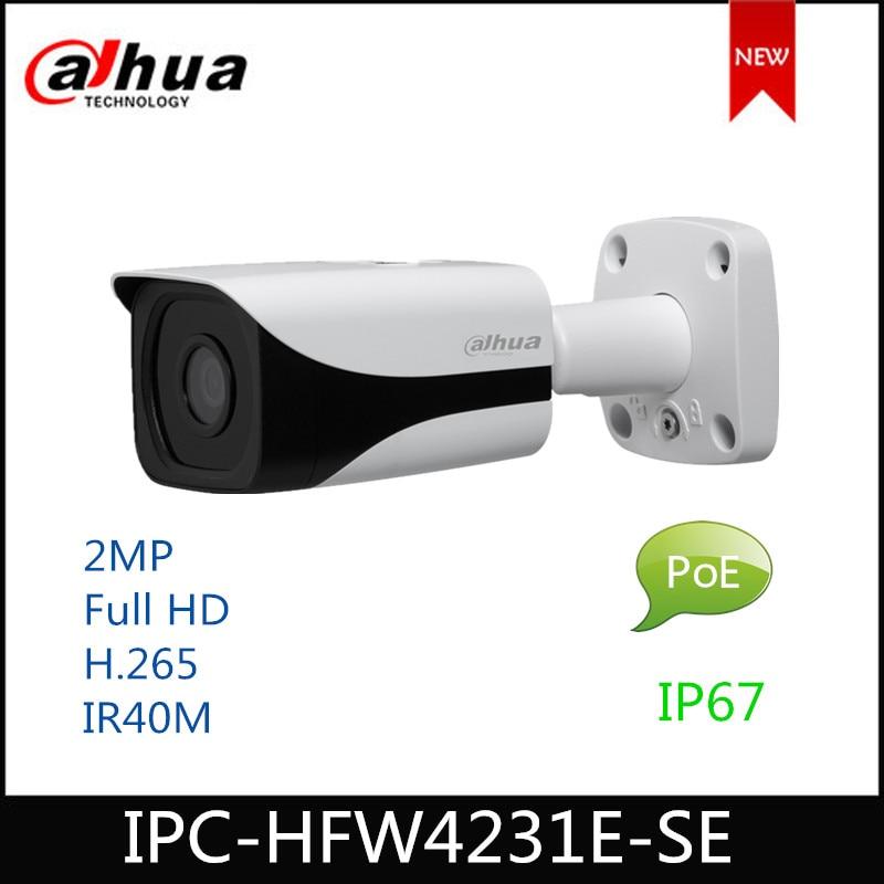 Dahua IP camera 2MP IPC-HFW4231E-SE security camera WDR IR Mini Bullet Network Camera