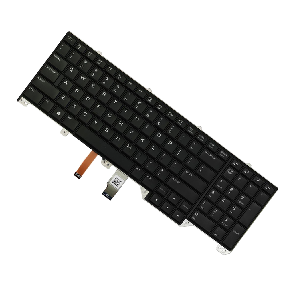 Original New For Dell Alienware 17 R2 R3 US layout backlit keyboard
