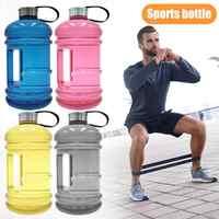 2.2L большая емкость Спортивная бутылка для воды портативный чайник Открытый Велоспорт Кемпинг Туризм Питьевая бутылка для воды Фитнес упра...
