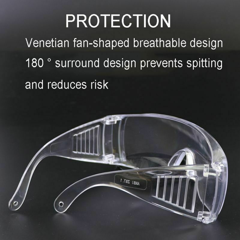 Anti-virus Safety Glasses Protective Goggles Transparent Glasses Lab Eye Protection Work Protection Security Spectacles Glasses