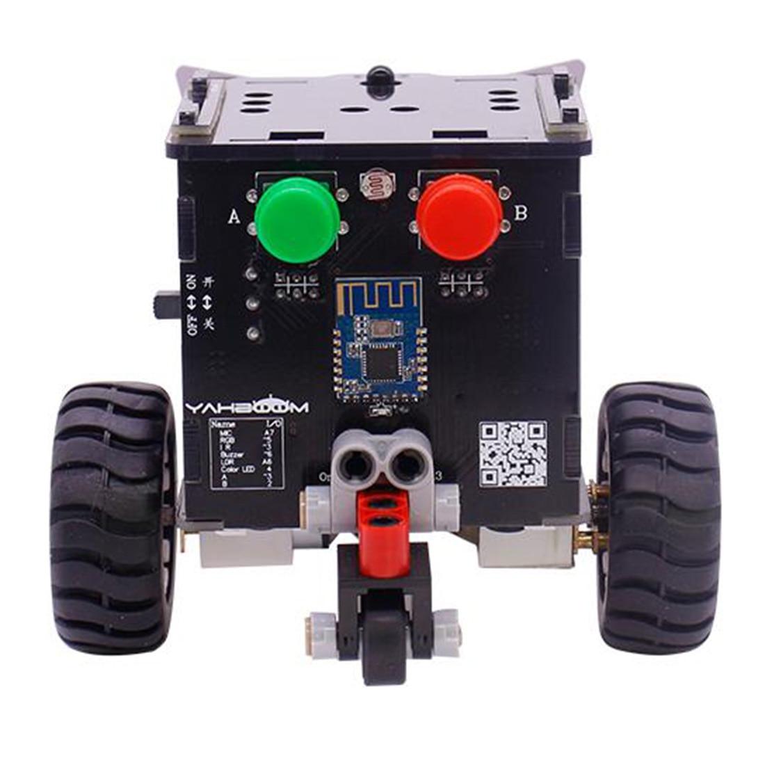 MODIKER High Tech Toys Standard Version Omibox Scratch Programmable Robot Car Kit Programmable Toys
