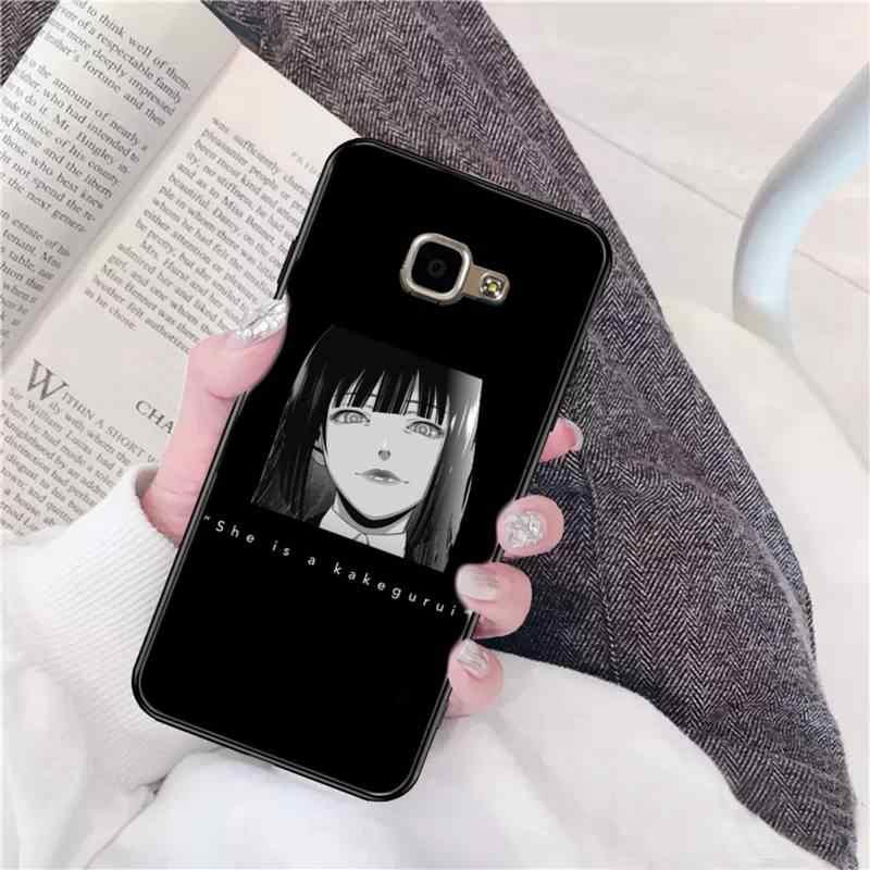LVTLV אנימה יפן Junji איטו Tees אימה שחור רך טלפון Case כיסוי עבור סמסונג A6 30s A50 70 10 40 51 20 71 30 20s A7 8 2018