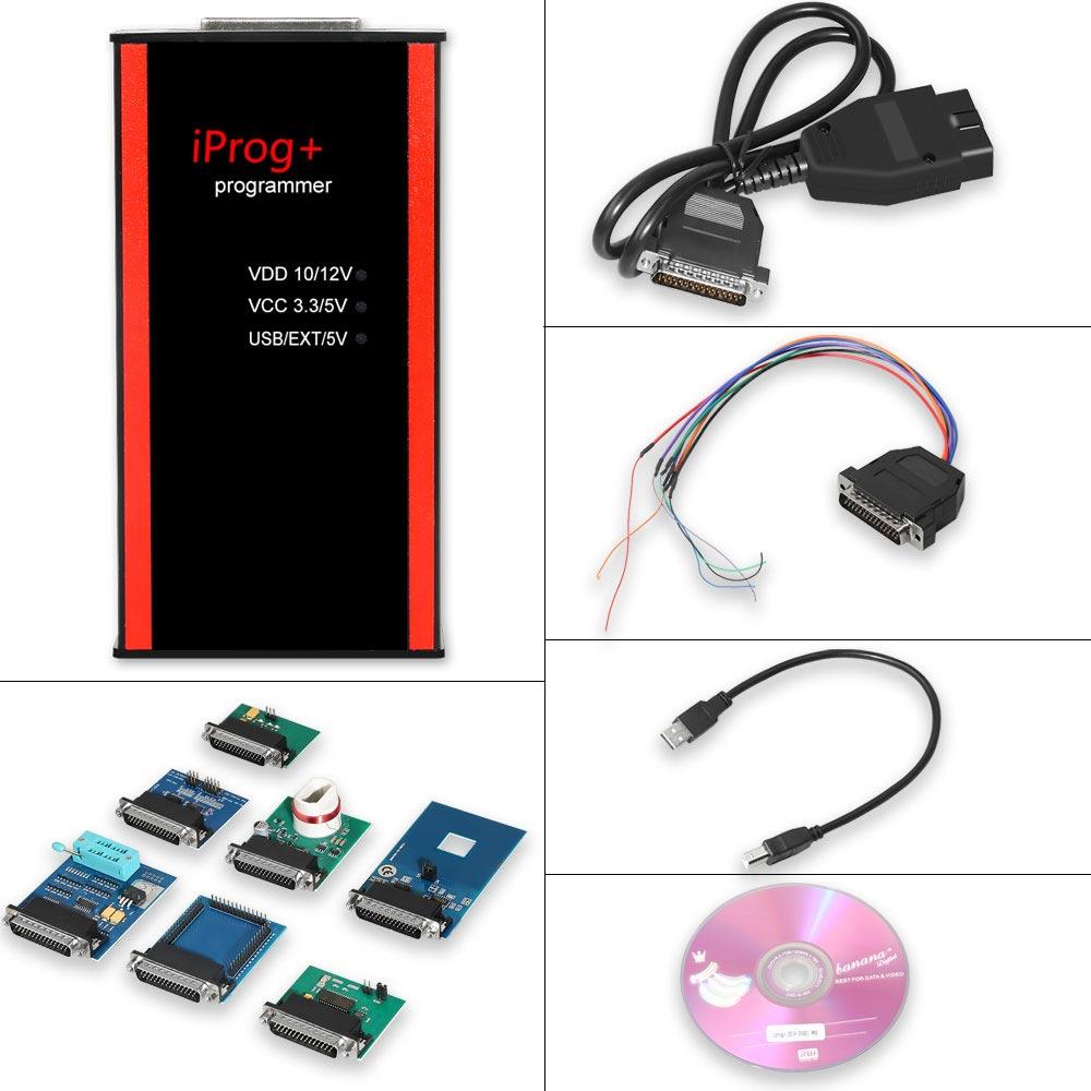 V82 Iprog + Pro programator obsługuje IMMO + korekta przebiegu + Reset poduszki powietrznej