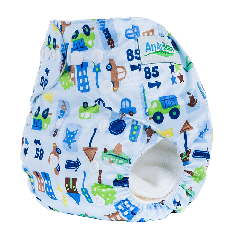 Cloth Diaper For Baby Cotton Reusable Diaper Covers Waterproof Breathable Washable Diaper Fit 3-15kg R Series