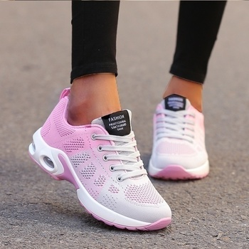 Running Shoes Women Breathable Casual Shoes Outdoor Light Weight Sports Shoes Casual Walking Platform Ladies Sneakers Black 5