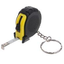 Выдвижная линейная лента для измерения брелока мини карманный