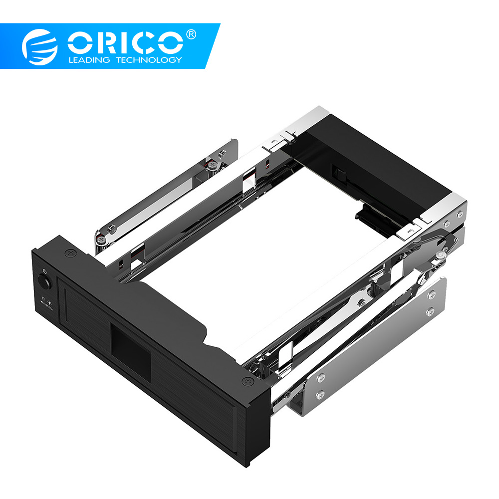 ORICO CD-ROM Space <font><b>HDD</b></font> Mobile Rack Internal <font><b>3.5</b></font> Inch <font><b>HDD</b></font> Convertor Enclosure <font><b>3.5</b></font> inch <font><b>HDD</b></font> Frame Mobile Rack Tool Free image