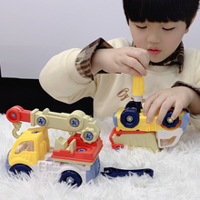 Kids Screw Nut Disassembly Loading Unloading Engineering Boys Creative Tool Education Toy Engineering vehicle Car Model Boy Toys cheap CN(Origin) NO Swallow Plastic 8~13 Years 14Y 5-7 Years 2-4 Years Grownups Transportation JY983115 Educational toys Assemble and disassemble toys