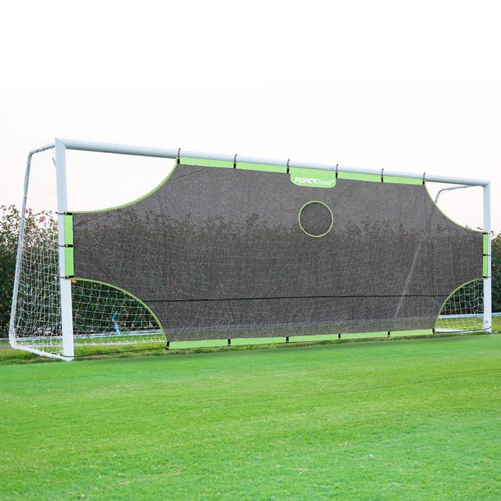 Foldable Soccer Goal Target Nets-with 5 Scoring Zones, Extra-Sturdy Portable Foorball Practice Gate For Children Soccer Training