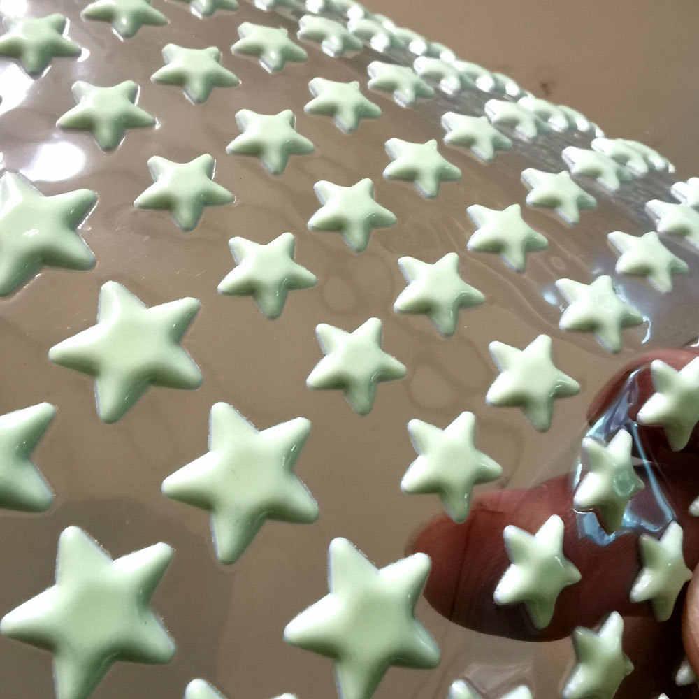 202 قطعة/المجموعة 3D فقاعة مضيئة نجوم النقاط الجدار ملصق الاطفال غرفة نوم المنزل الديكور صائق يتوهج في الظلام ملصقات صناعة يدوية