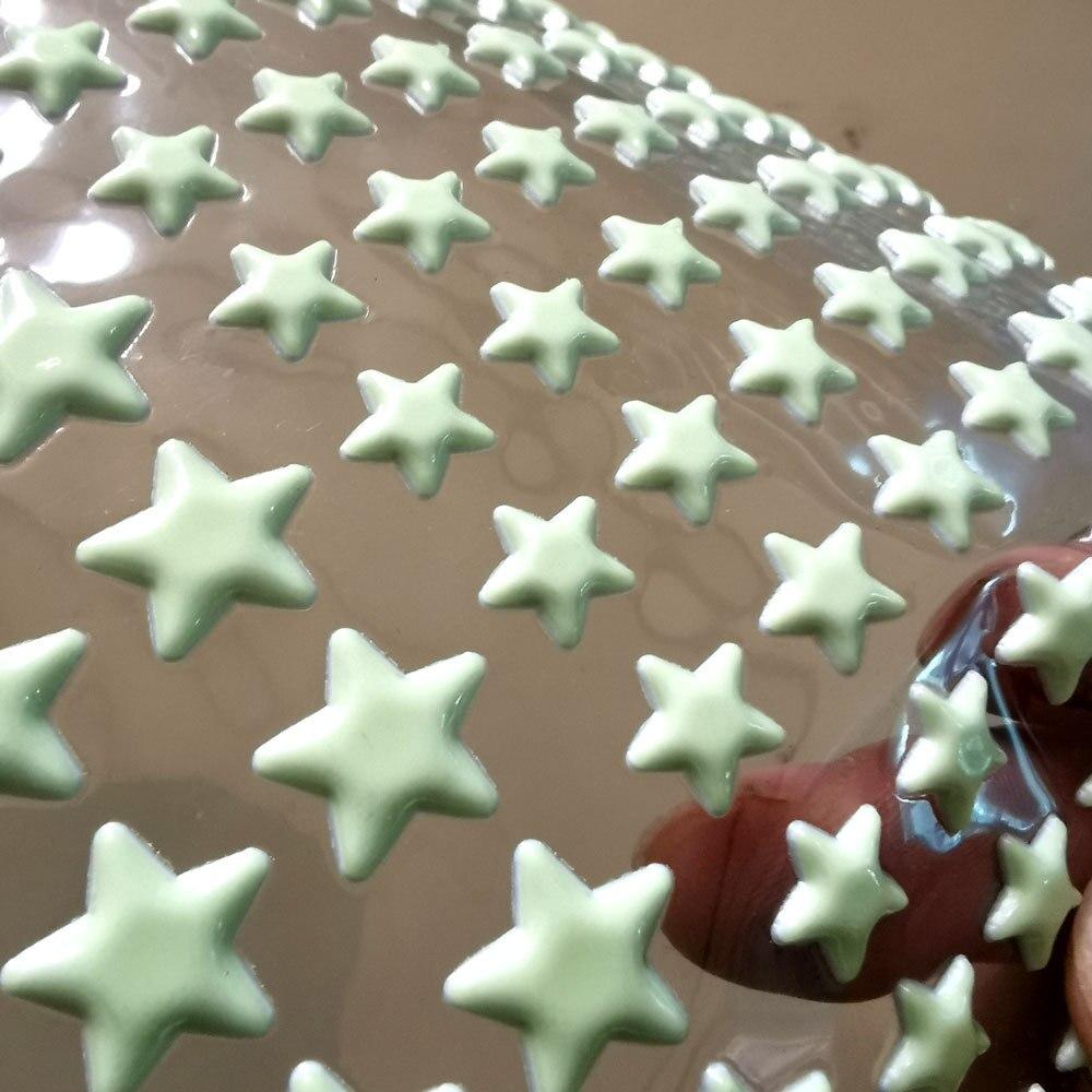 3D Luminous Wall Stickers Stars Dots DIY Kids Room Decal Glow in Dark 202pcs//set
