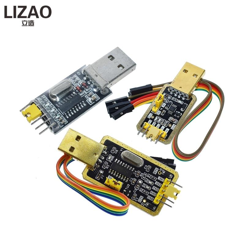 CH340 modul USB zu TTL CH340G upgrade download eine kleine draht pinsel platte STC mikrocontroller-board USB zu seriell statt PL2303