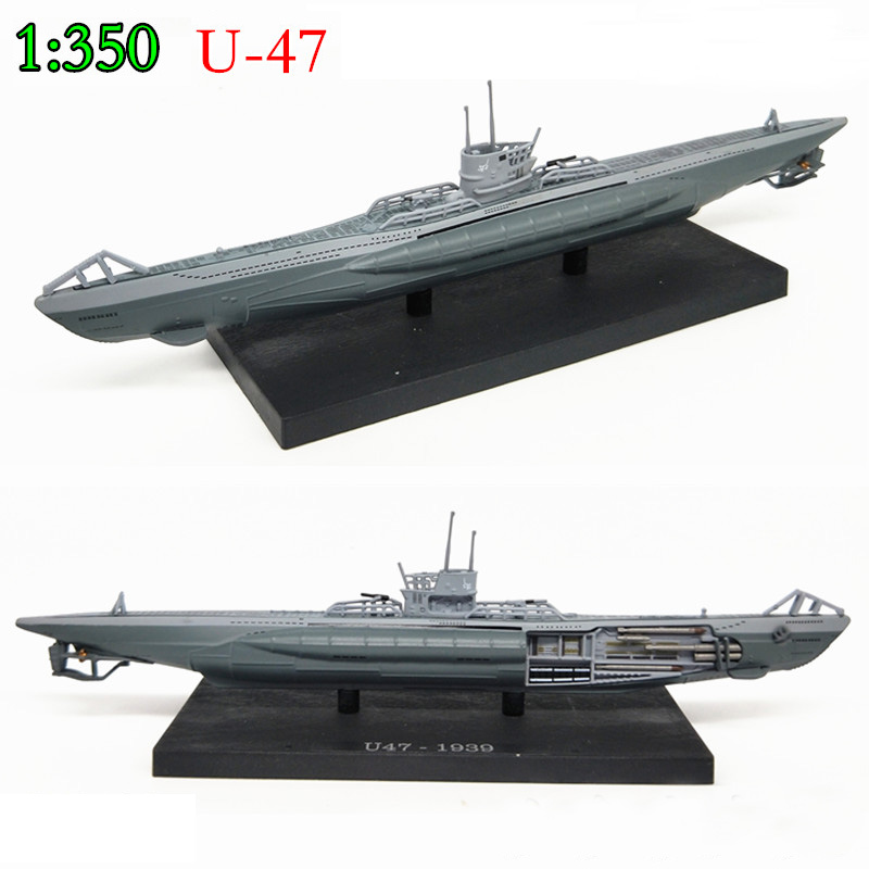 Special Offer  1:350  Germany  U-boat  1939-U47  Simulation Of Finished Warship Model  Alloy Collection Model