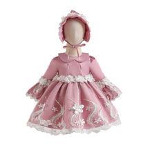 Милые платья в стиле Лолиты с шапками для маленьких девочек;