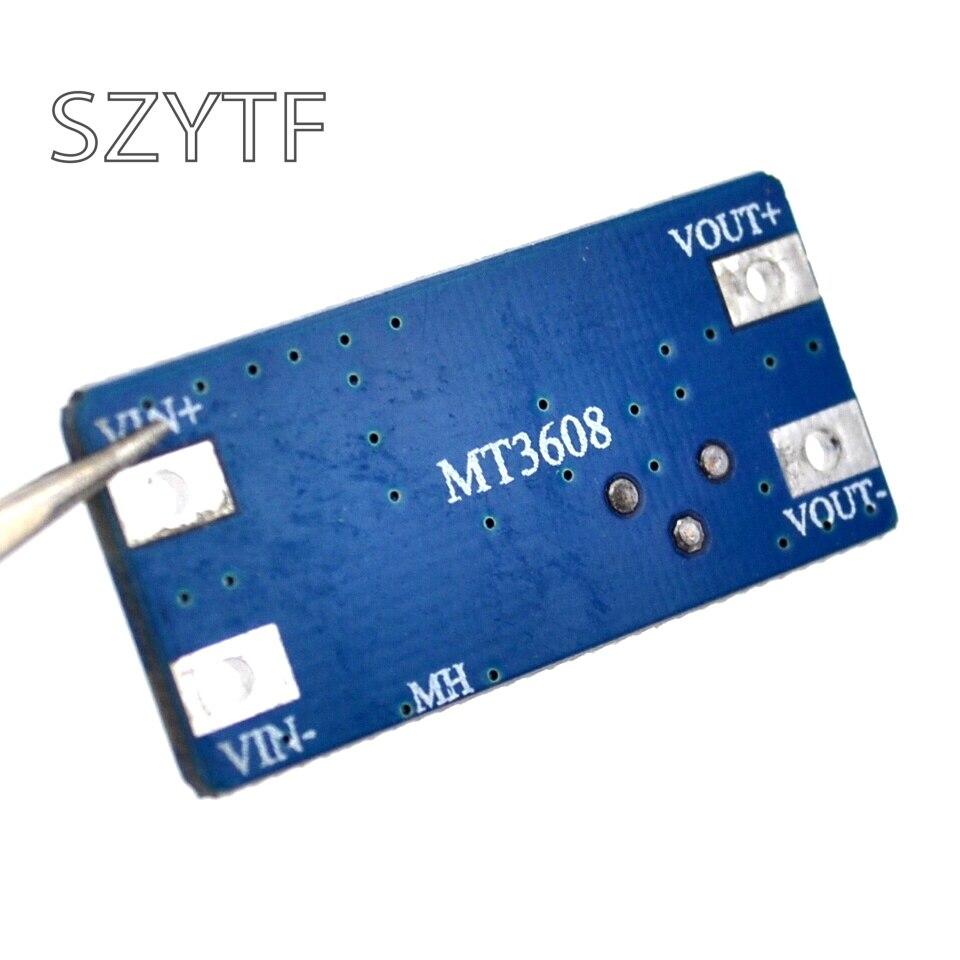 5 stücke MT3608 DC-DC Step Up Power Gelten Modul Booster Power Modul MAX ausgang 28V 2A für Arduino UNO