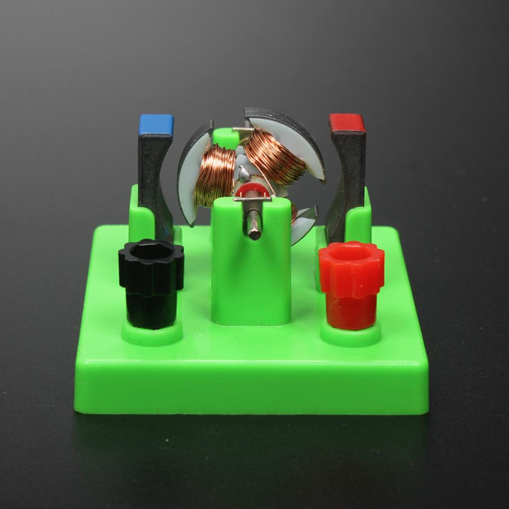 DIY DC Electrical Motor Model Physics Experiment Aids Children Educational Students Toy School Physics Science Student Toy