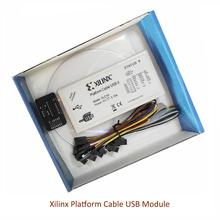 Xilinx Platform Cable DLC10 USB Download Cable Jtag Programmer for FPGA CPLD support XP/WIN7/WIN8/Linux CY7C68013A Beyond DLC9LP