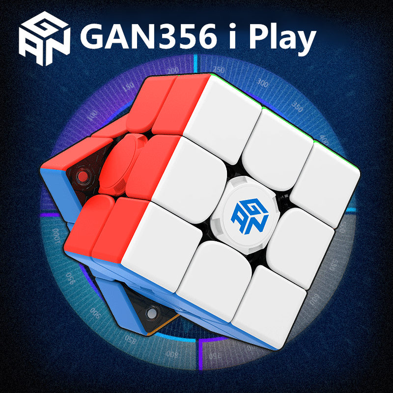 GAN356 i Play Magnetic Magic Speed gan Cube GAN356i Station Magnets Online Competition Cubes GAN 356 i Play 4
