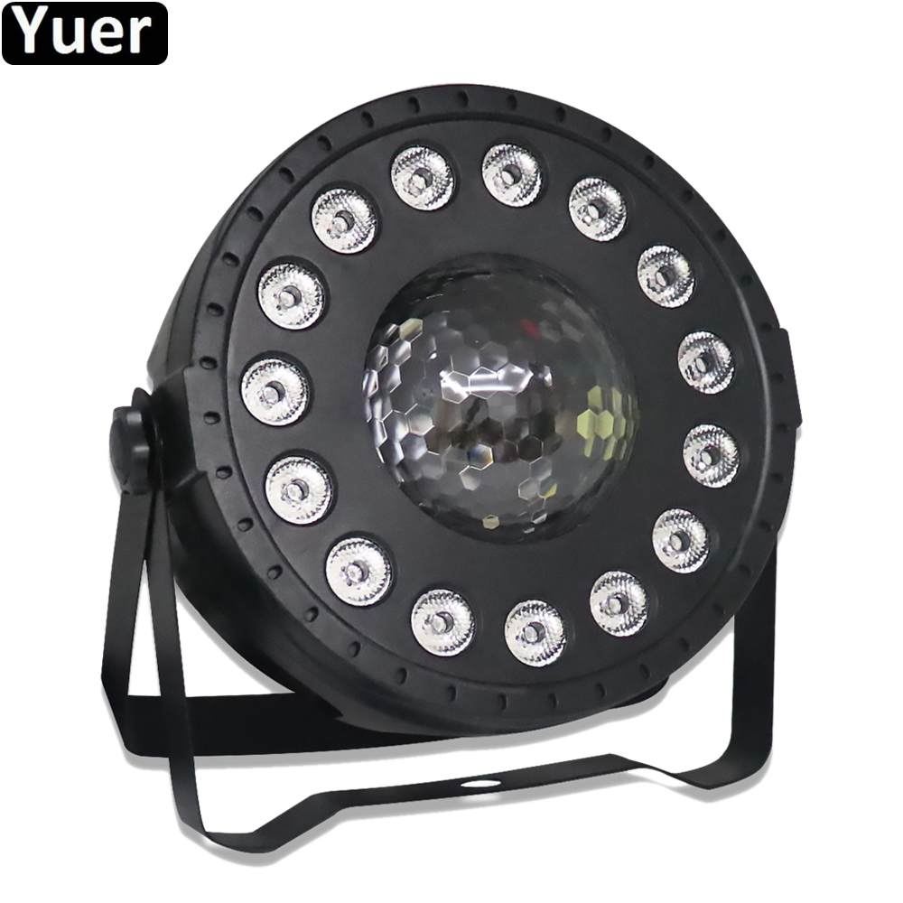 Multi-function Mini LED Spot Wash 2in1 Par Light With DMX512 Sound For Disco DJ Projector Machine Party Decoration Stage Light