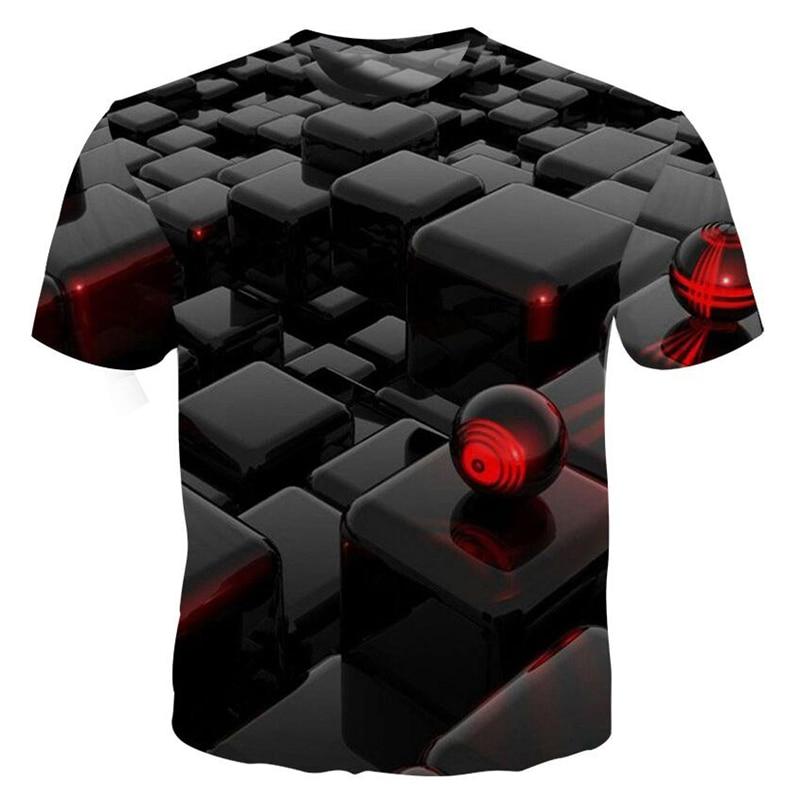 3D Funny T Shirts New Short Sleeve T Shirt Men Harajuku Casual Tee Tops Homme Streetwear T-shirt Men Psychedelic Tshirt