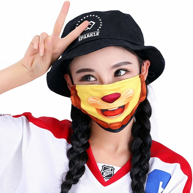 Kawaii Mouth Mask Kpop Cute Face Mouth Mask Dust Masks Fashion Anime Cotton Masks Mascarillas Protective Mask 1