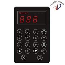 Кнопка вызова в очередях noshery WPE100 сенсорные клавиши Многофункциональный сбор пейджер кухня Беспроводная кнопка вызова watier