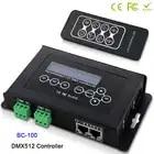 BC 100 DC9V светодиодный RGB контроллер DMX512 сигнал 170 пикселей светодиодный светильник контроллер ЖК дисплей RF беспроводной пульт дистанционного... - 1