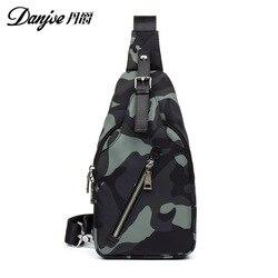 2019 новый стиль, мужская трендовая нагрудная сумка, ткань Оксфорд, поясная сумка, модная повседневная наплечная сумка, сумка через плечо, изы...