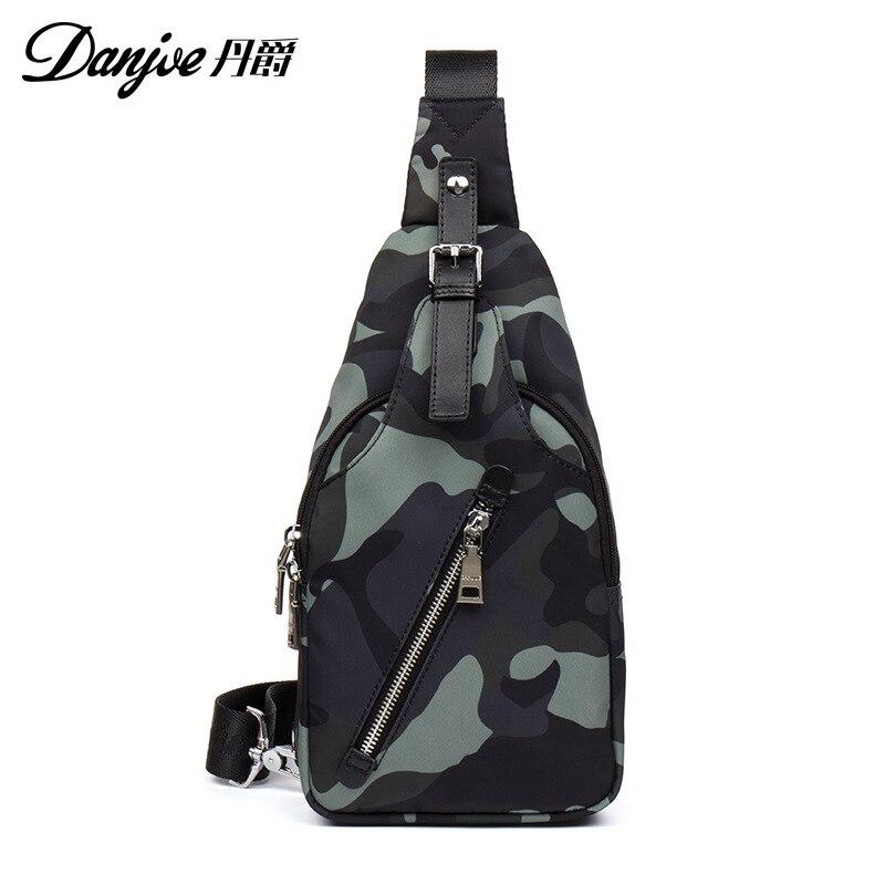 2019 New Style Men Trend Chest Bag Oxford Cloth Waist Bag Fashion Casual Shoulder Bag Shoulder Bag Boutique Men's Bag