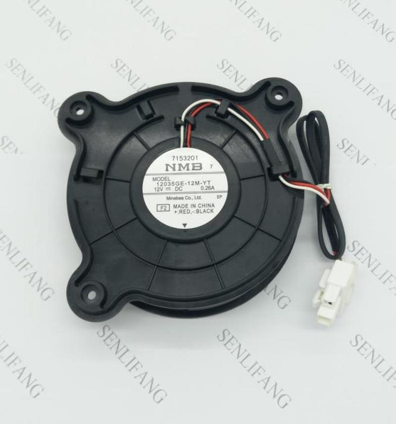 Free Shipping  Original For NMB 12035GE-12M-YT DC12V 0.26A For Refrigerator Cooling Fan