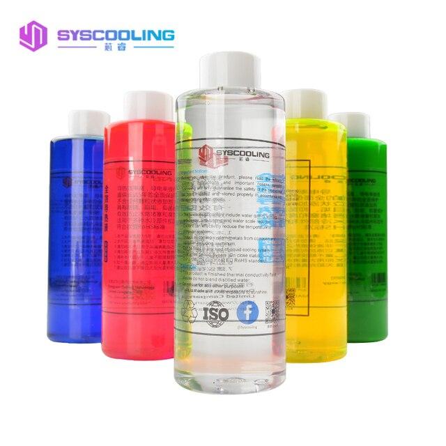 SYSCOOLING líquido térmico refrigerado por agua, accesorios de refrigeración por agua para ordenador, Color transparente, 500ML