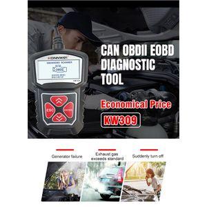 Image 3 - 2020 yeni profesyonel araba kod okuyucu teşhis tarama aracı KW309 OBD2 tarayıcı otomotiv kontrol motor işığı araçları Mu