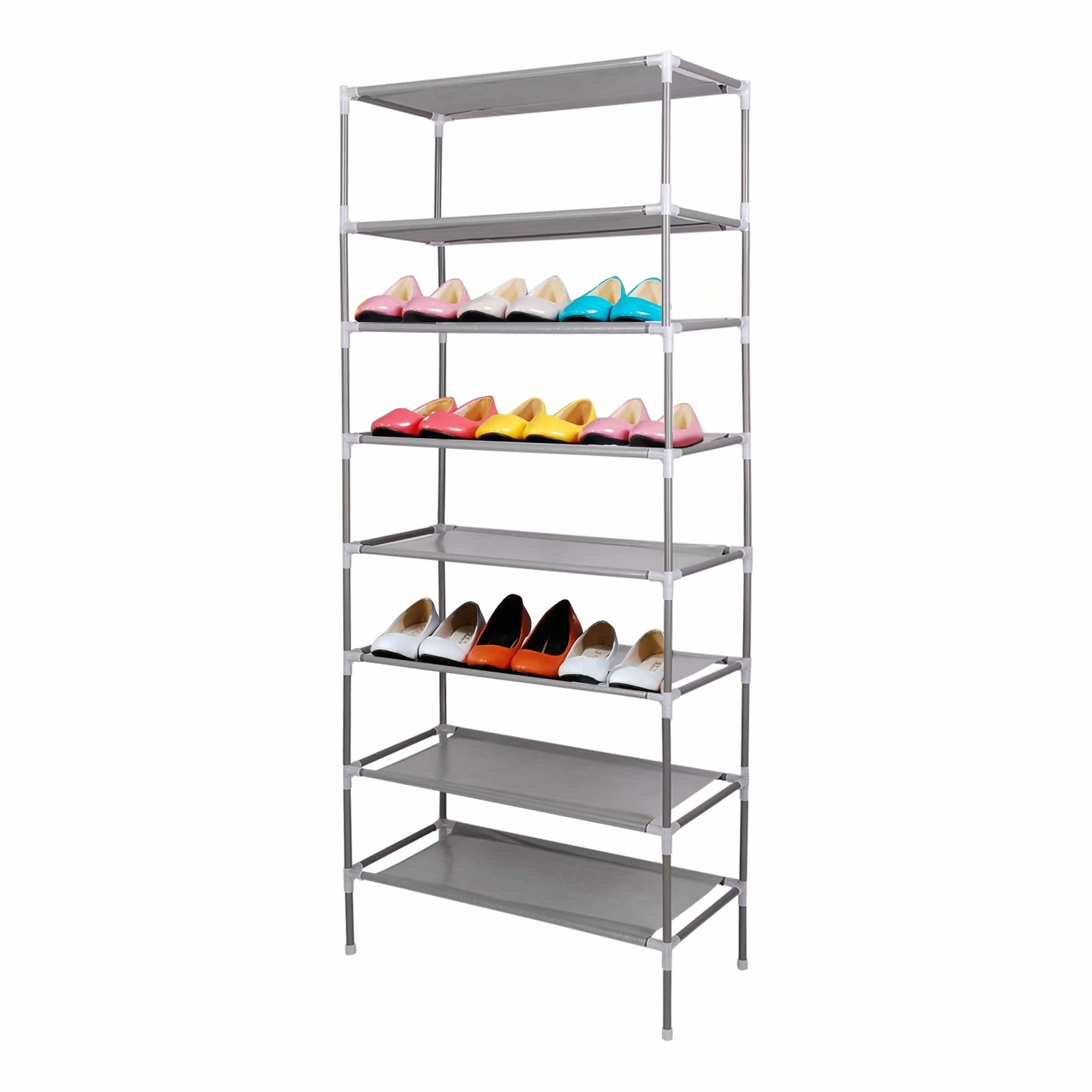 CellDeal 2/4/6/8/10 Tiers Non-Woven Fabric Dustproof Shoe Rack Storage Organizer Cover Cabinet Shelf Cabinet 6/12/18/24/30 Pairs 2