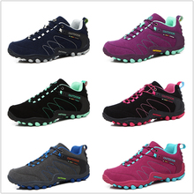 AQLOAC/Весенняя походная обувь; Женская водонепроницаемая обувь; износостойкая обувь для альпинизма; кожаная спортивная обувь; треккинговые ботинки