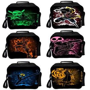 Новинка, однокомпонентная Сумка-кулер Luffy, изоляционная сумка Ace Sanji, мужские и женские сумки для мальчиков и девочек, Студенческая сумка Zoro ...
